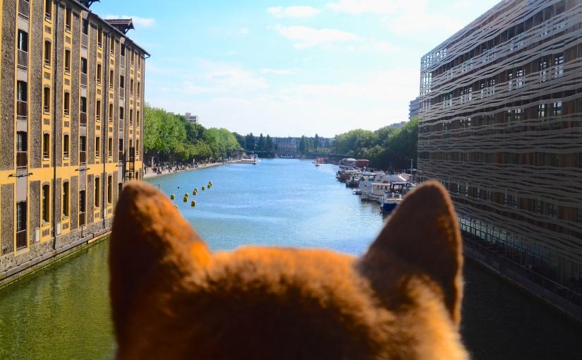 Le Bassin de la Villette – Comme un air de vacances avec sonchien